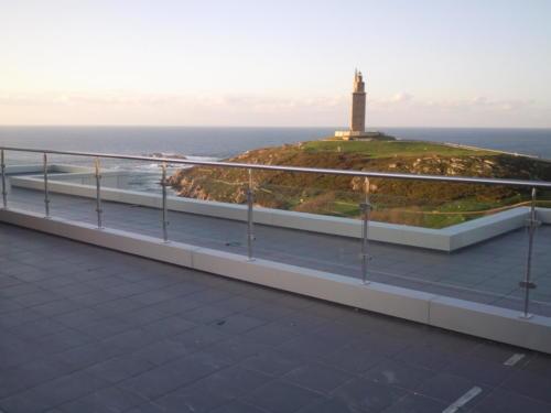 Fabricación y montaje de Barandilla A Coruña